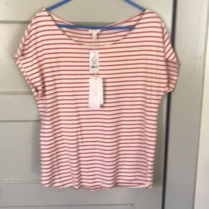 SOFT joie striped top